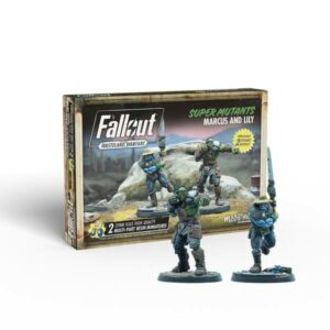 Fallout Wasteland Warfare - Super Mutants Marcus and Lily