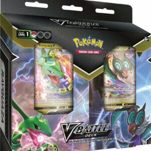Pokemon October V Battle Deck Bundle - RayquazaV-NoivernV